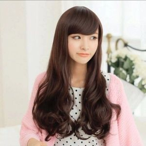 Accessories - brown wig